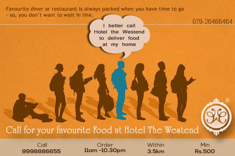 Call 9998886655! for your #FavouriteFood at #Hotelthewestend