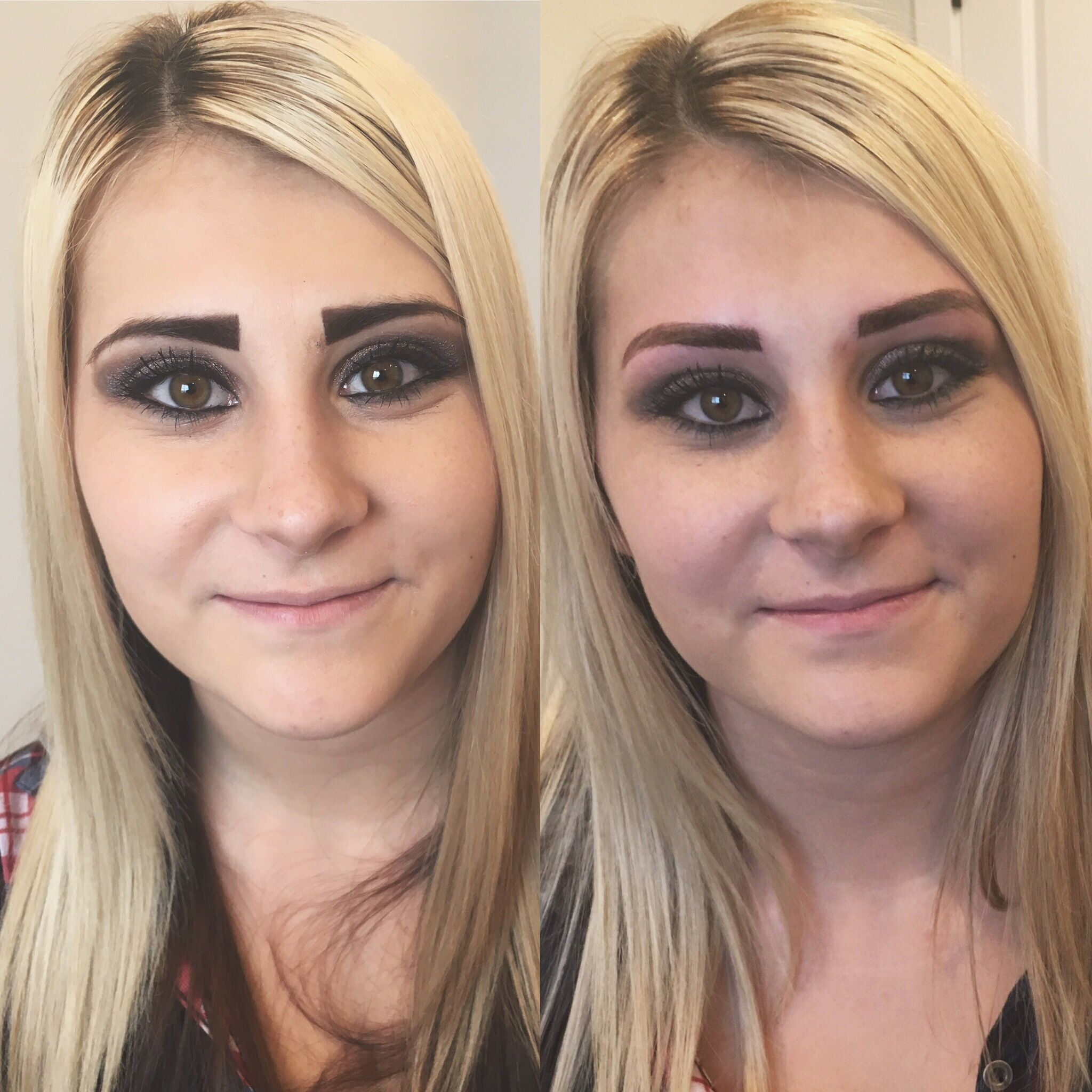 Be very careful who you allow to touch your brows... # ...
