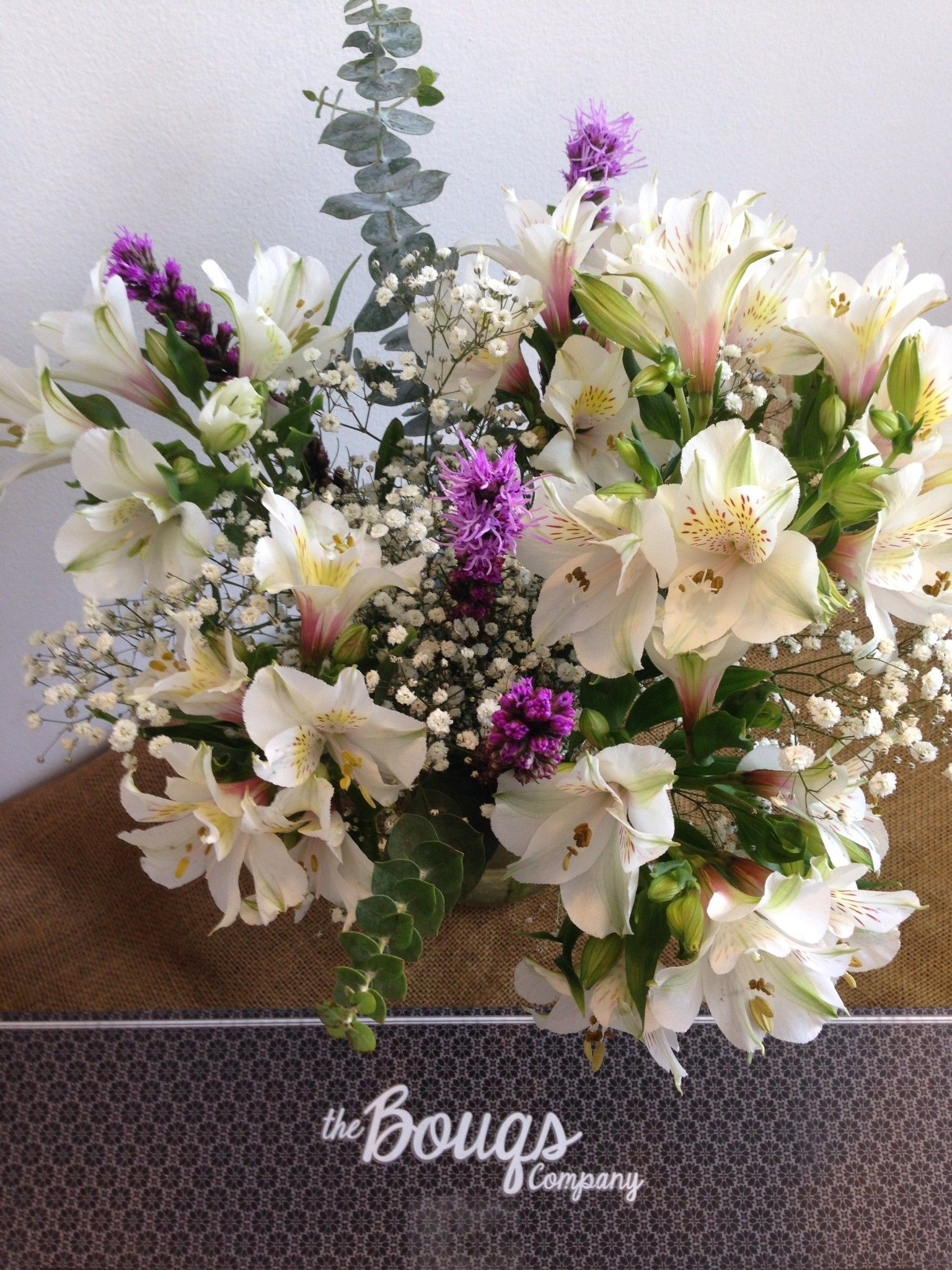 Alstroemeria flowers make everything better. Send a box to