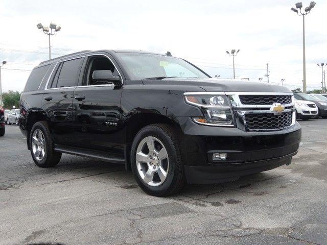 2015 Chevrolet Tahoe Lt 4x4 Black Chevrolet Tahoe Tahoe Lt