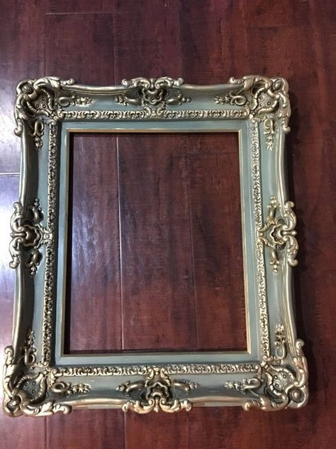 Photo of 16×20 Antique Shabby Chic Frames, Wedding Baroque Frame, Frames for Canvas, Larg…