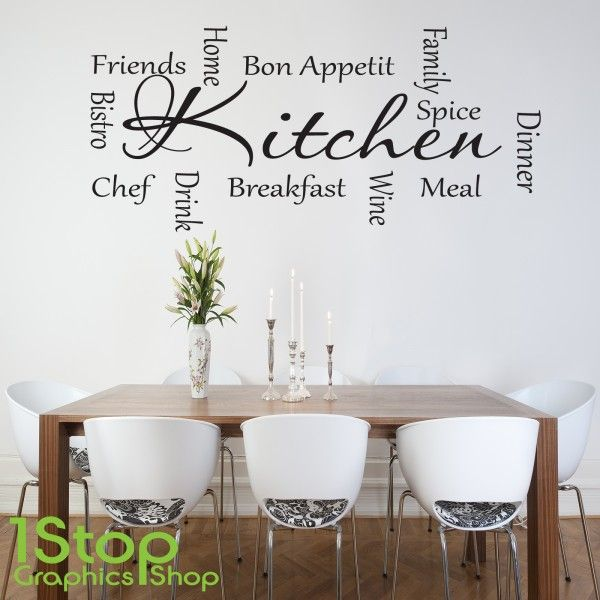Captivating Home Quote Designs Kitchen Words Wall Sticker Love Rules Text Quotes  Stickers Adhesive