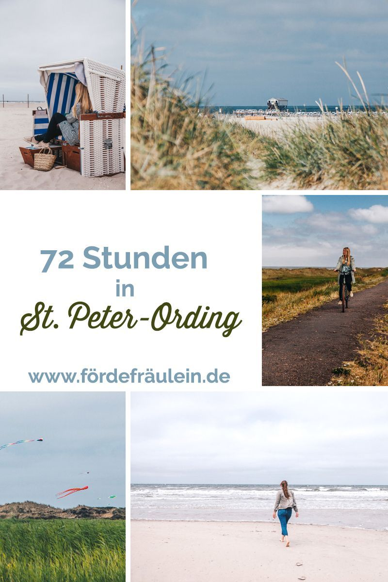 Track Sea 48 Hours In St Peter Ording 72 Hours In St Peter Ording I Will Not Only Show You How Beautiful The Beach Th In 2020 Weekend Trips Short Trip Trip