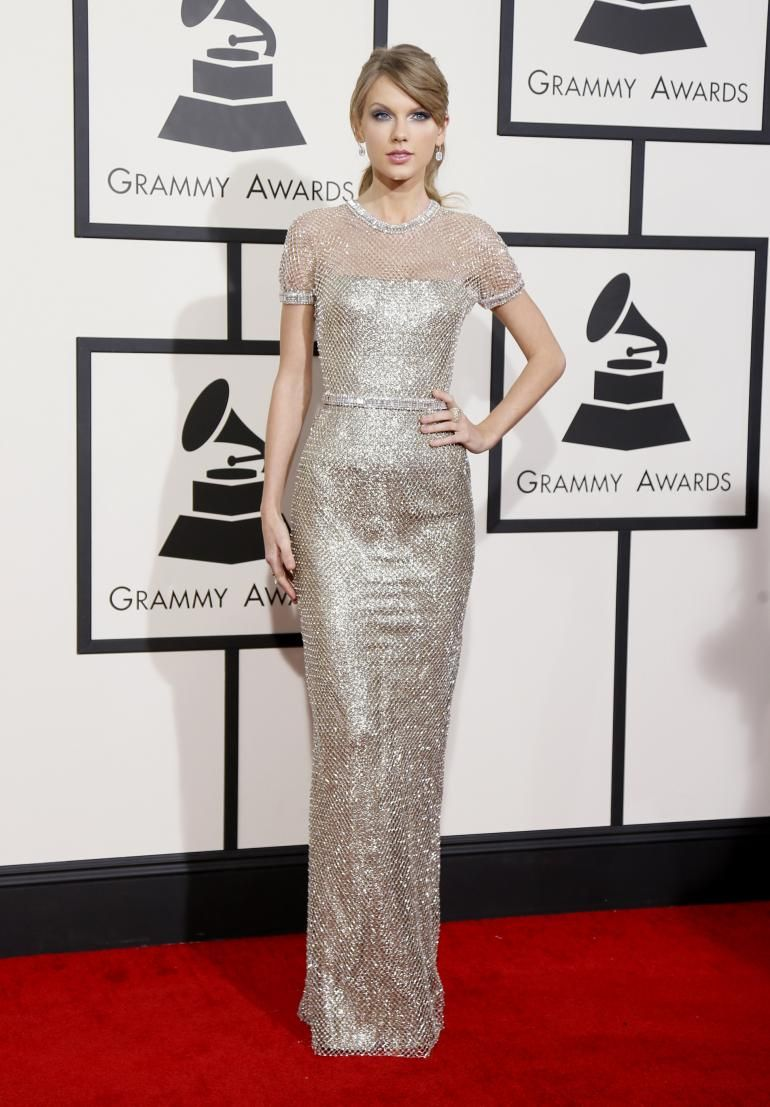 Taylor Swift in Gucci Premiere, 2014 Grammy Awards. Amaze ...