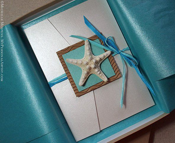 17 Best images about Wedding invites – Handmade Beach Wedding Invitations