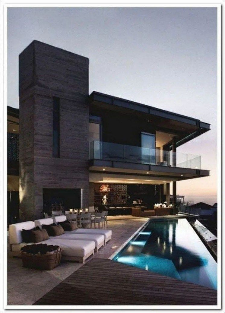 45 Gorgeous Modern Rooftop Terrace Designs 24 House Architecture Design House Designs Exterior Architecture House