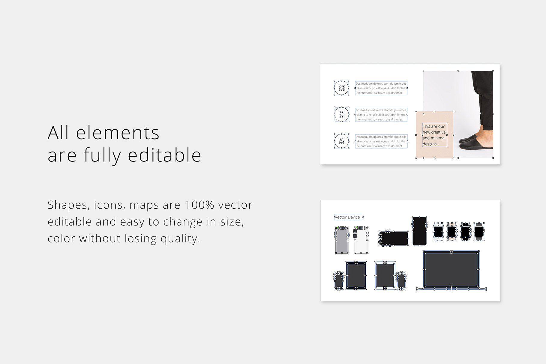 Maon Google Slides Template Simple Powerpoint Templates Keynote Template Presentation Slides Templates
