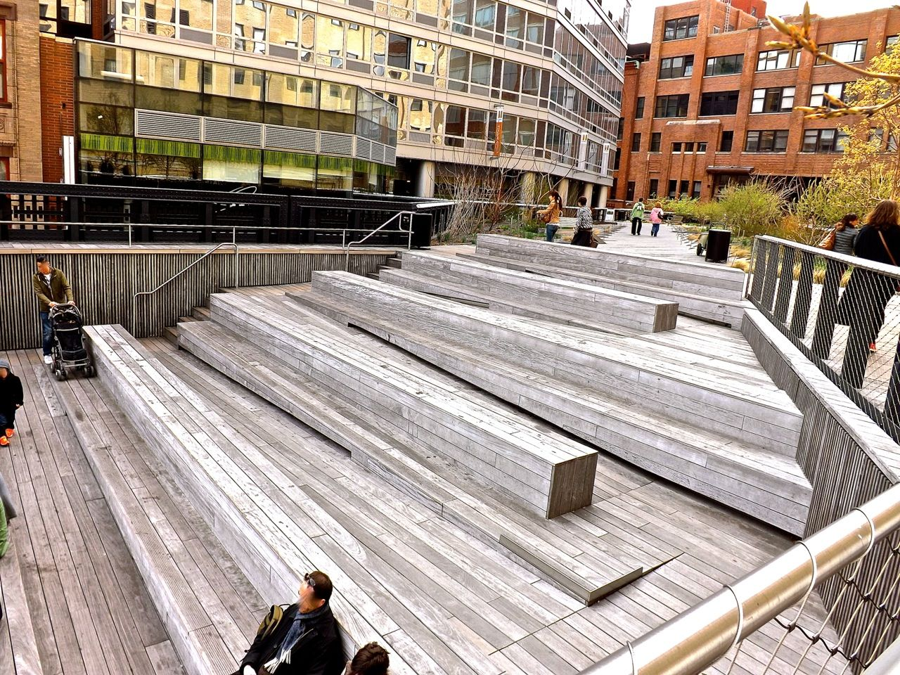 study in steps high line
