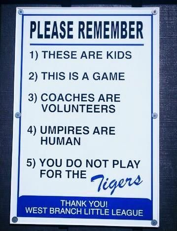 Look The Realest Little League Sign Ever Little League Baseball Signs Little League Baseball