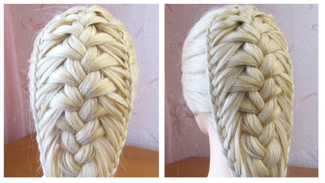 Coiffure Avec Tresse Tuto Coiffure Cheveux Longs Mi Long Facile A Faire Braided Hairstyles Twist Braids Braided Hairstyles Easy