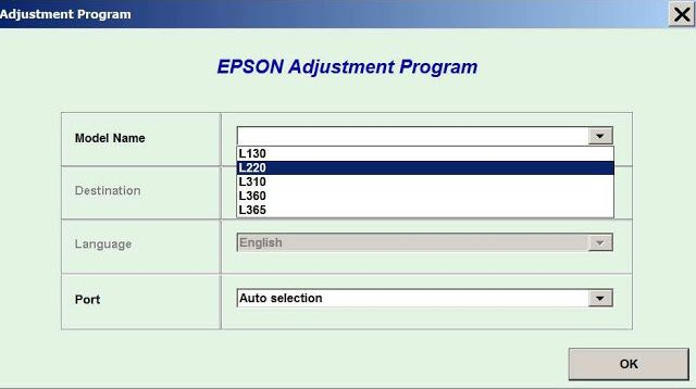 Epson Printer: Epson l130 Resetter Free Download | Epson l130 in