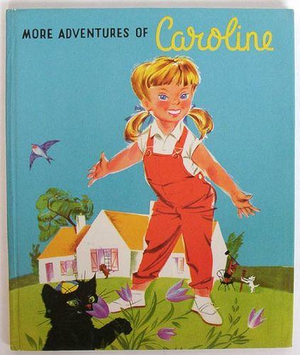 Pierre Probst More Adventures Of Caroline Cover Vintage Children S Books Vintage Book Books