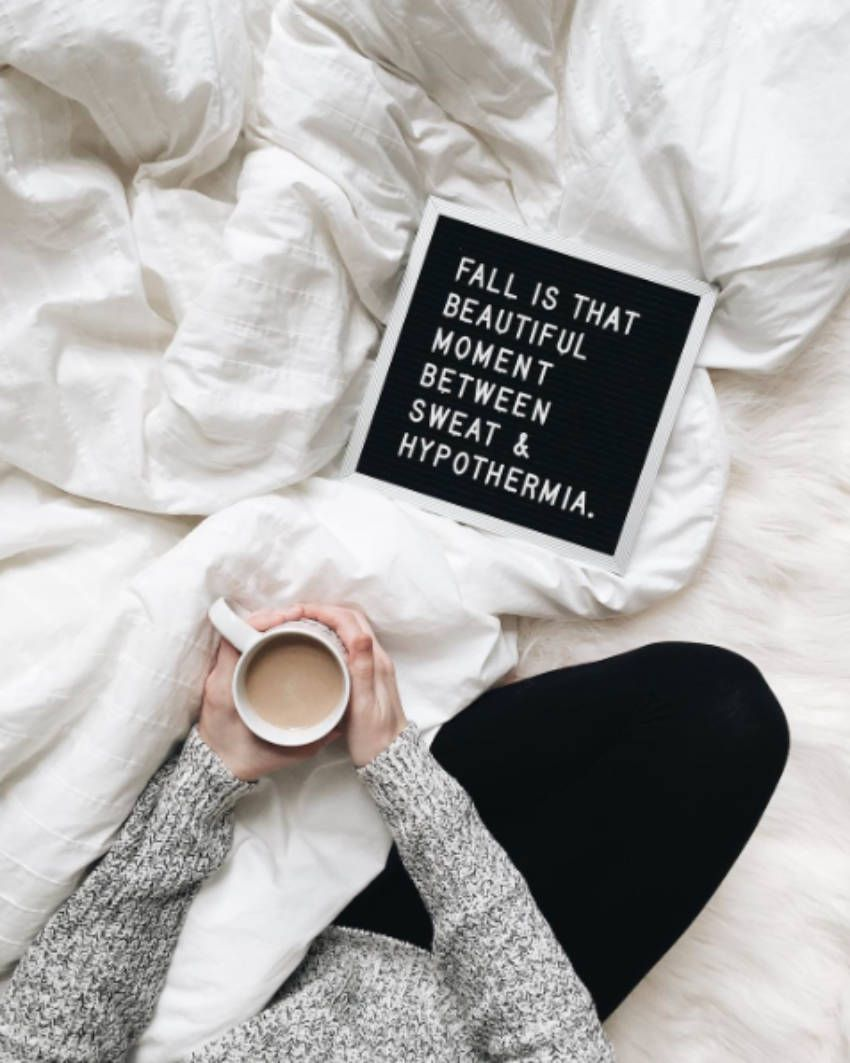 9 Hilarious And Relatable Pictures For Those Who Love Fall Message Board Quotes Autumn Quotes Letter Board