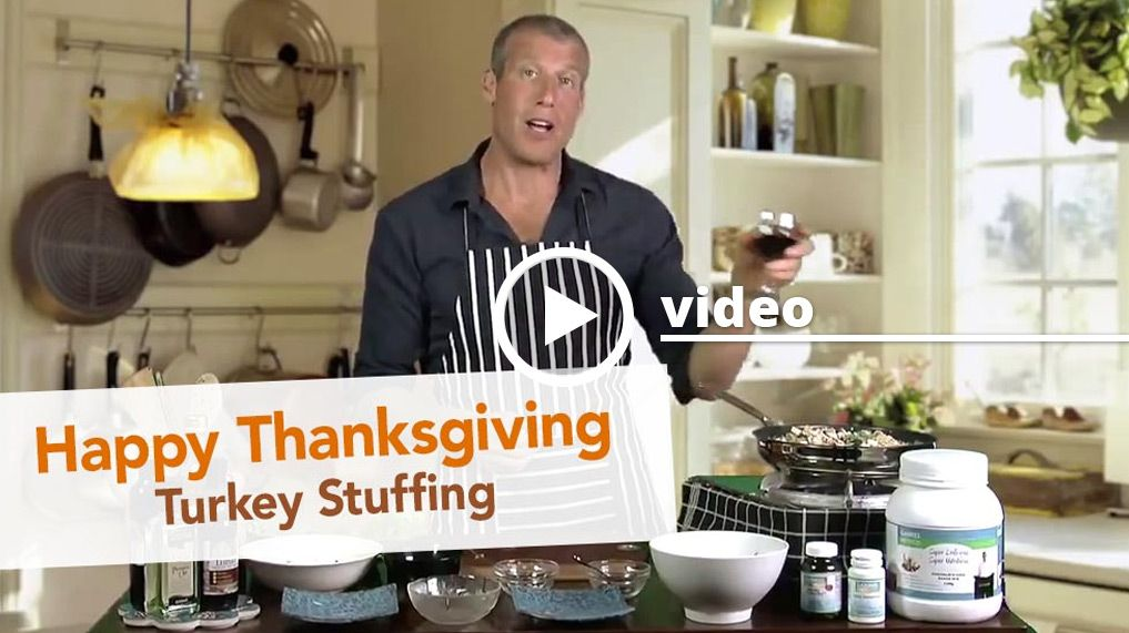 In this video Jon shows you how to make one of his favorite healthy holiday recipes; gabriel method friendly thanksgiving stuffing.