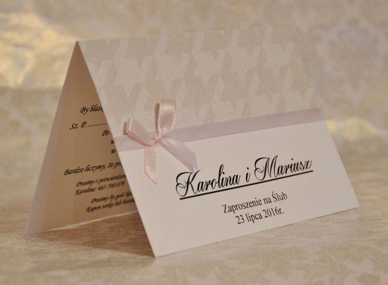 Zaproszenia Slubne Zaproszenie Urodziny Rocznica 5793441620 Oficjalne Archiwum Allegro Place Card Holders Place Cards Cards