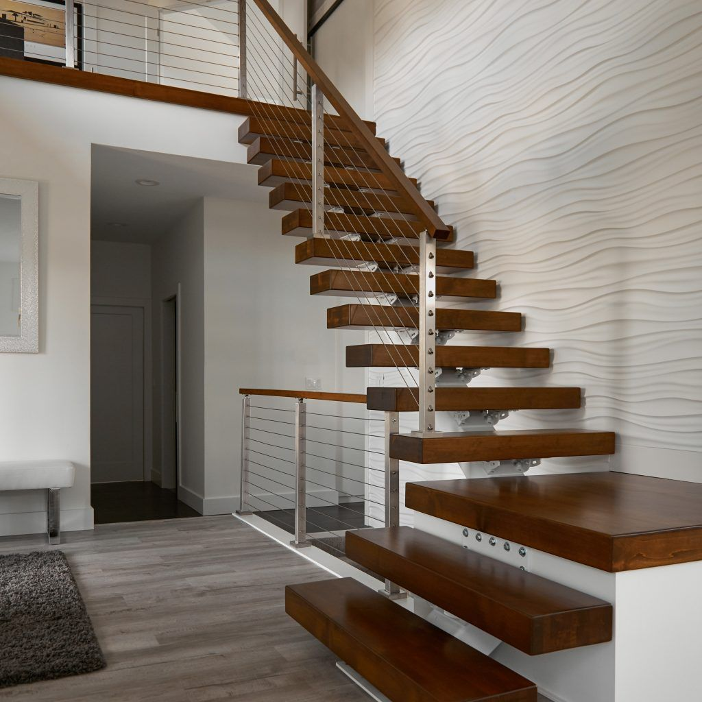 Best 4″ Thick Stair Treads In 2020 Staircase Design Stair 400 x 300