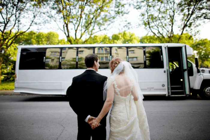 Bus Charter Wedding Bus Rental Wedding Transportation Party Bus Party Bus Rental