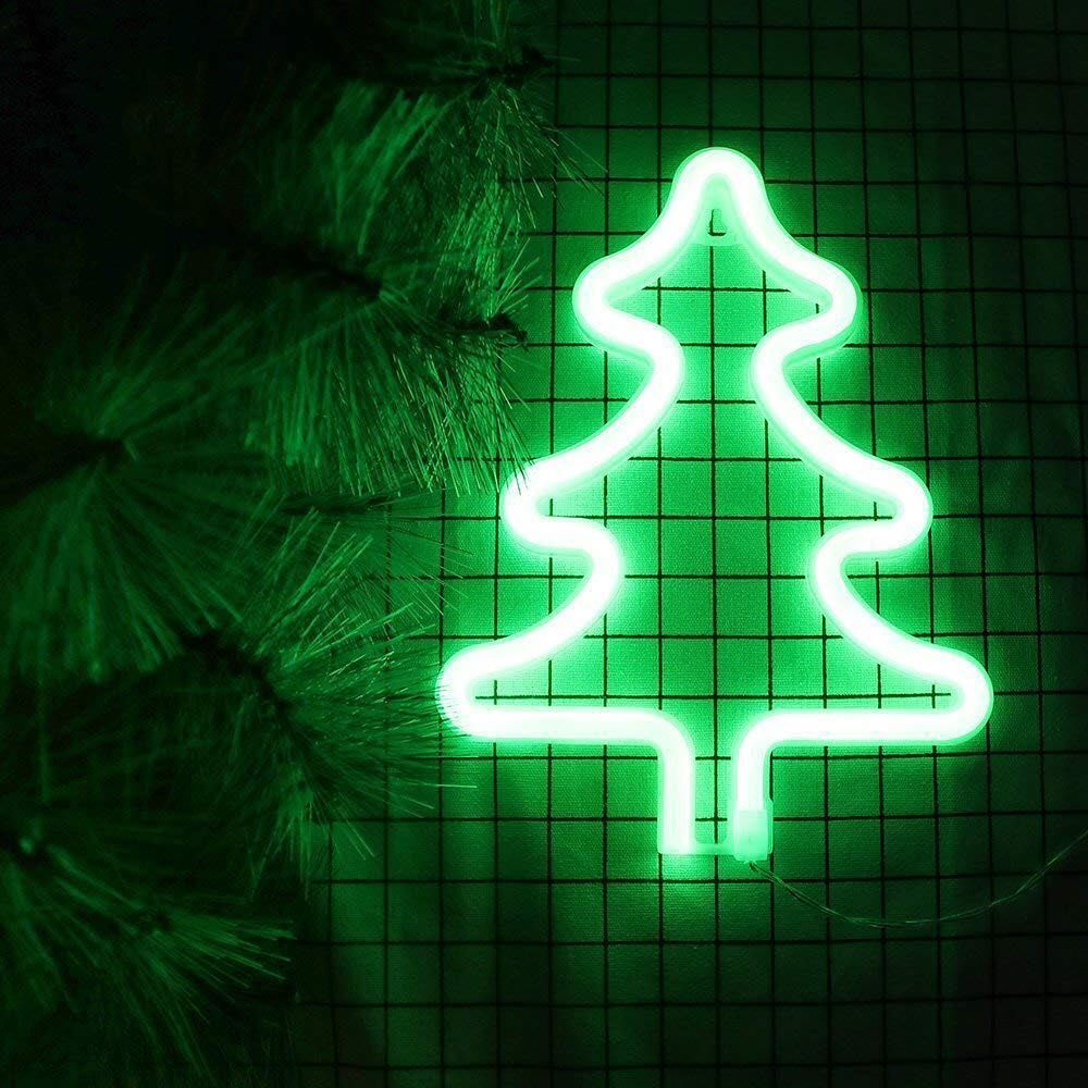 All We Want For Christmas Is A Neon Sign Come On Light Up Your Christmas Tree With Christmas Neon Sign Check The Link In Th Neon Signs Neon Neon Design