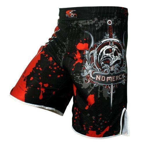 New Skulls MMA Shorts Muay Thai Boxing Short Pants Fighting Sport Kick Men Fight