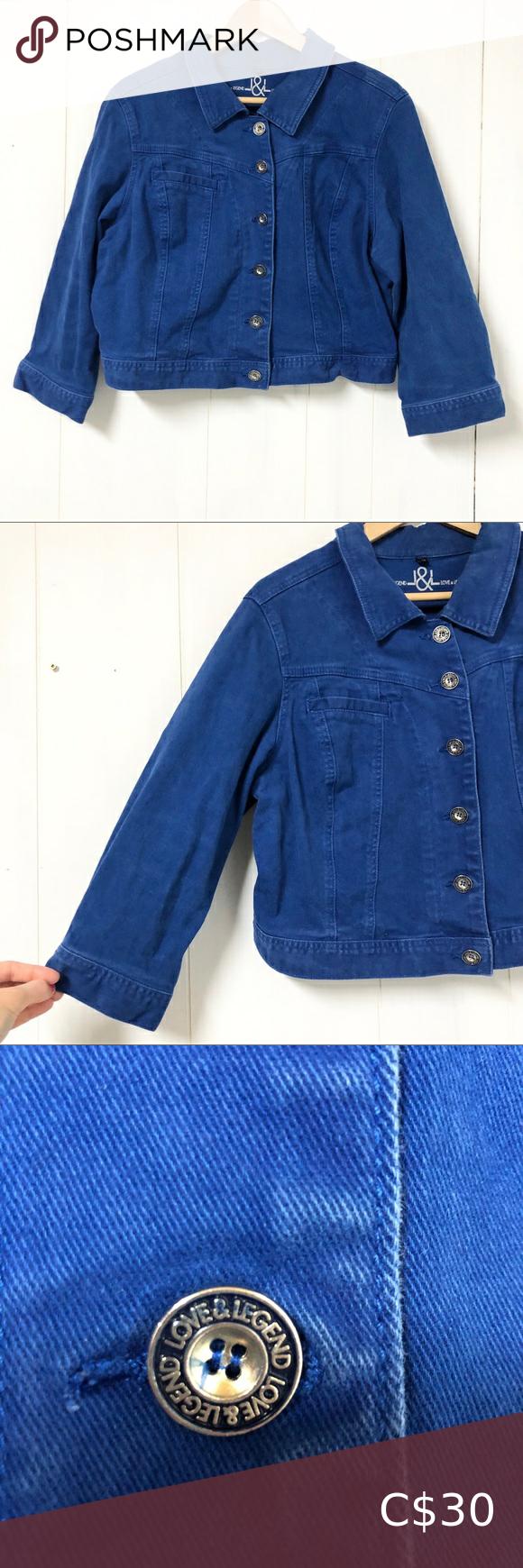Love Legend Royal Blue Cropped Denim Jacket Cropped Denim Jacket White Denim Jacket Cropped Denim [ 1740 x 580 Pixel ]