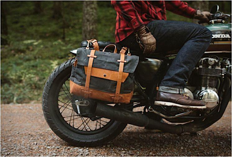 pack animal robuste vintage taschen f rs motorrad moto. Black Bedroom Furniture Sets. Home Design Ideas