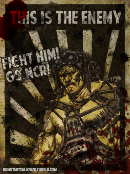 Ncr Propaganda Poster Fallout Pinterest Fallout Fallout Art And Video Games
