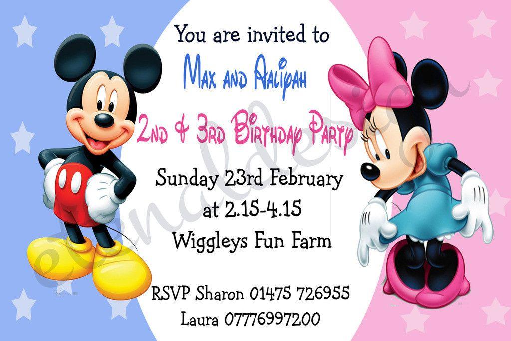 Kids Birthday Standard Invites KBSI 030