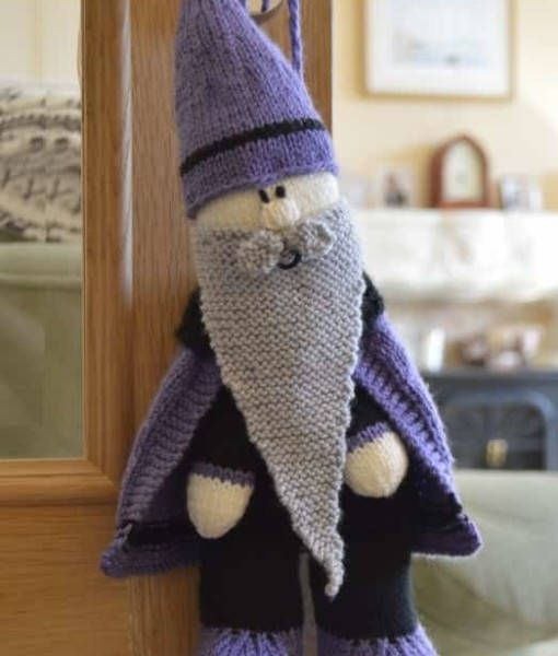 Wizard Baggles Bag Knitting Pattern Wizard Backpack Knitting