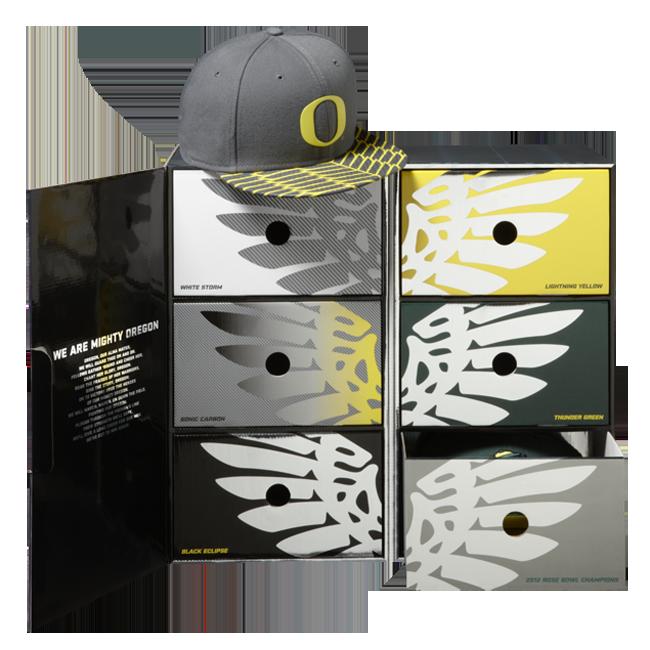 Oregon Ducks Football Snapbacks Hat Box X Nike Og Eukicks Sneaker Magazine Oregon Ducks Football Oregon Ducks Ducks Football