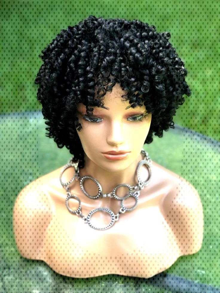 Excited to share thing curly wig.Ready micro Braids etsy Excited to share thing curly micro Braids