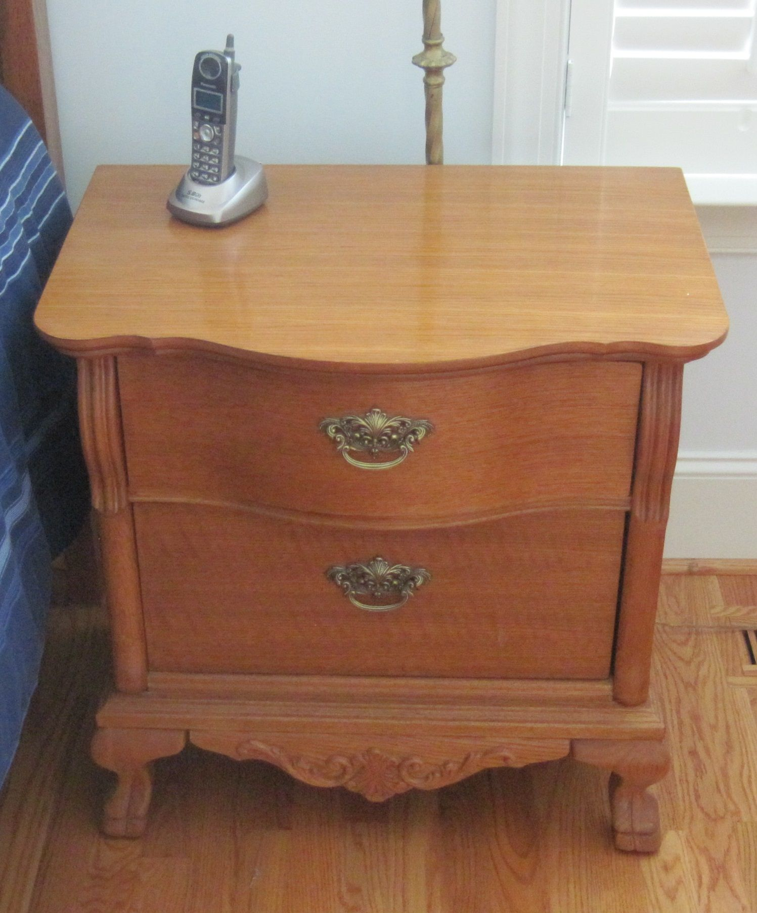 Two night stands lexington victorian sampler furniture - Lexington victorian bedroom furniture ...