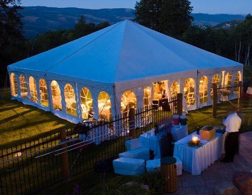 Outdoor Tents For Wedding