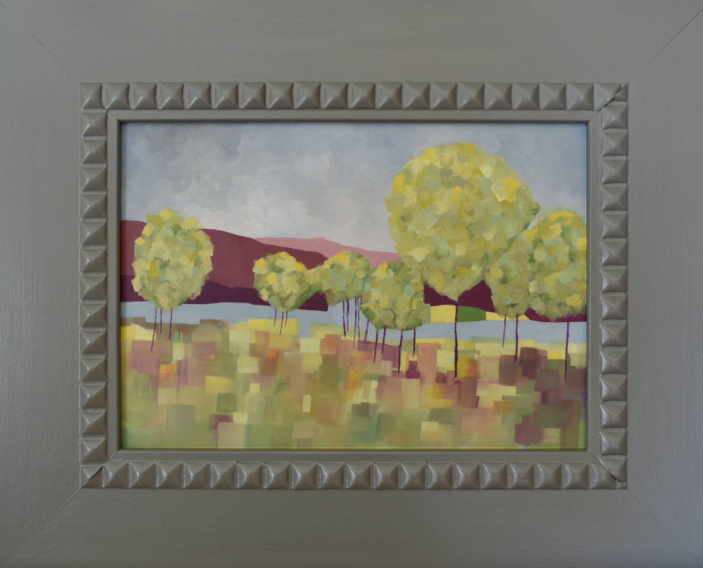 Oil Painting Landscape ... Landscape Painting ... Trees ... Canvas ...