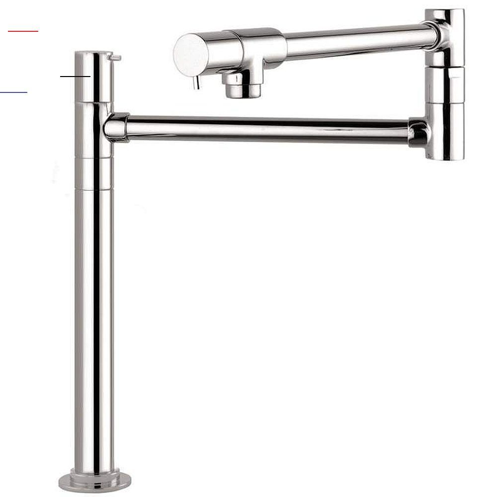 Hansgrohe Talis S Deck Mounted Pot Filler With Lever Handles Potfiller Talis S Pot Filler Faucet Deck Moun Pot Filler Faucet Pot Filler Modern Pot Fillers