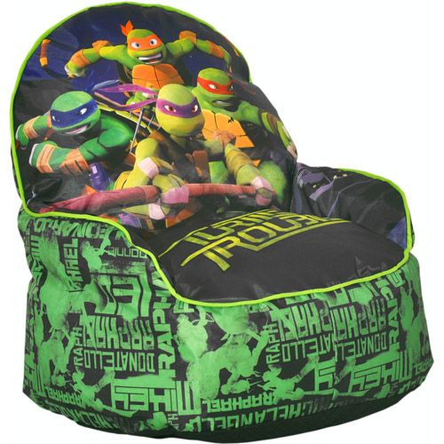 Teenage Mutant Ninja Turtles Sofa Chair Walmart Com Ninja Turtle Room Decor Ninja Turtle Room Ninja Turtle Bedroom