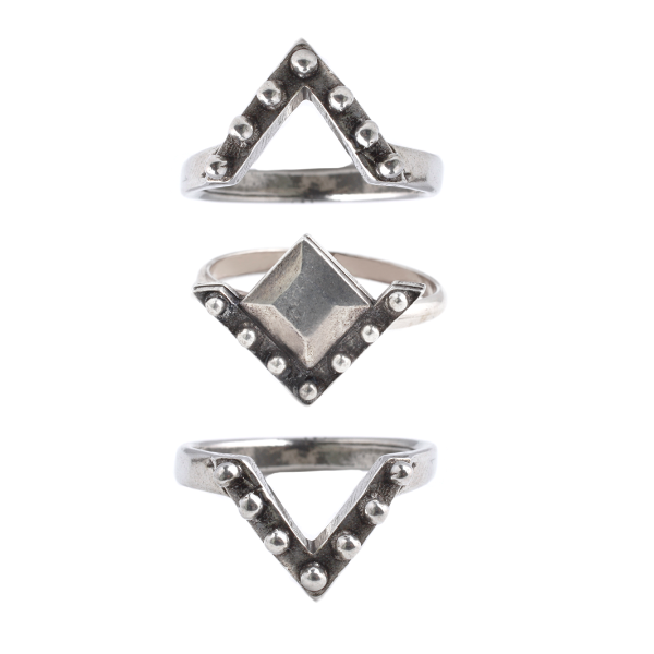 Rodeo Ring Set (view more colors) // #banditstackingsets #the2bandits http://the2bandits.com/collections/stack-sale