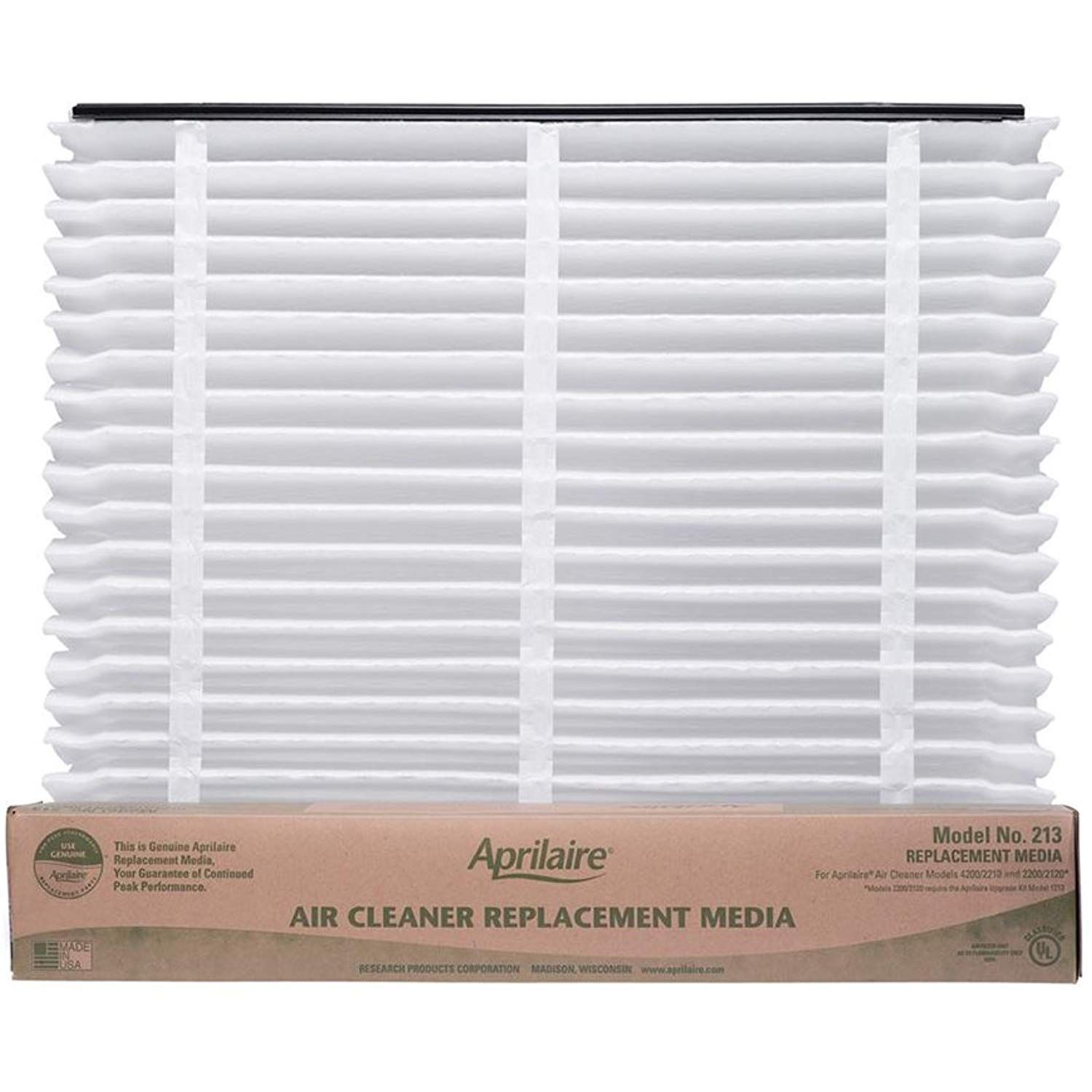 Aprilaire 213 Air Filter for Air Purifier Models 1210