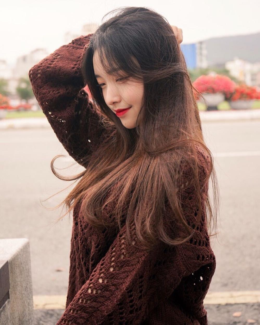 Ulzzang Girl Large Eyes Long Hair: Pin Oleh R A Y Di Ulzzang Icons Ulzzang