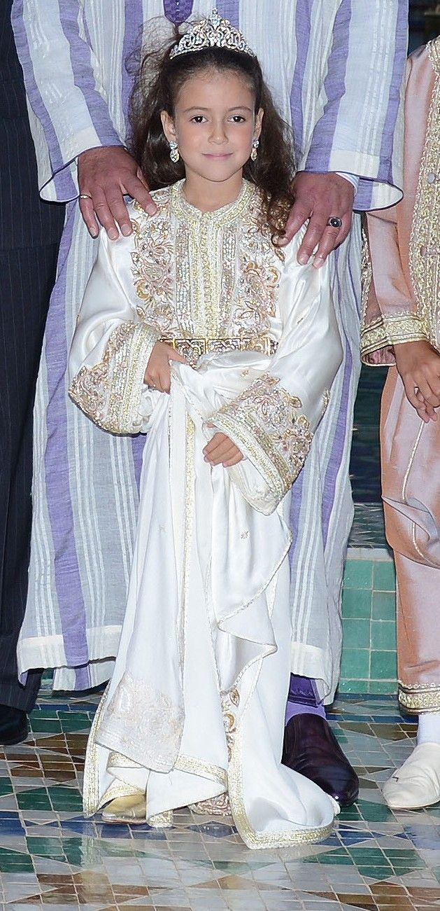 Lalla Khadijah of Morocco 7/15/2013. According to my sources, this is actually a real tiara!