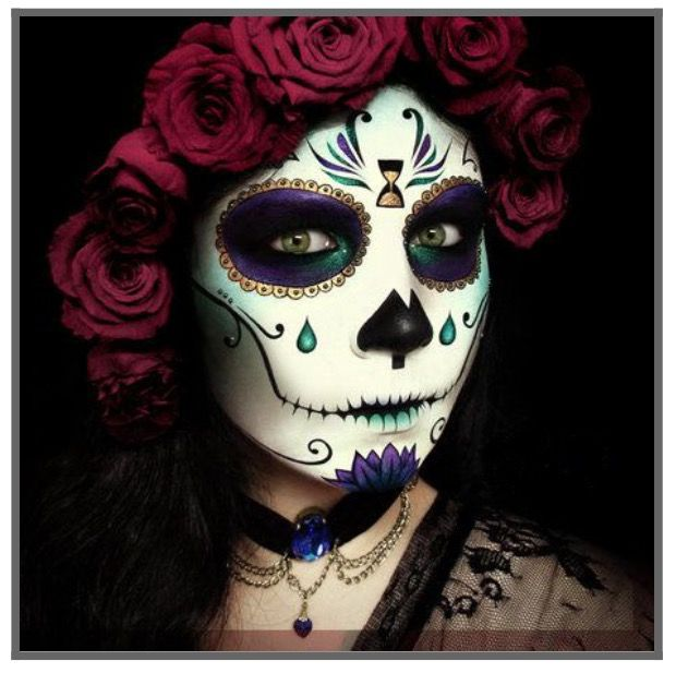halloween costumes sugar skull
