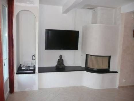 chemin e moderne d 39 angle galb spartherm varia 2lrh fireplaces pinterest chemin e insert. Black Bedroom Furniture Sets. Home Design Ideas