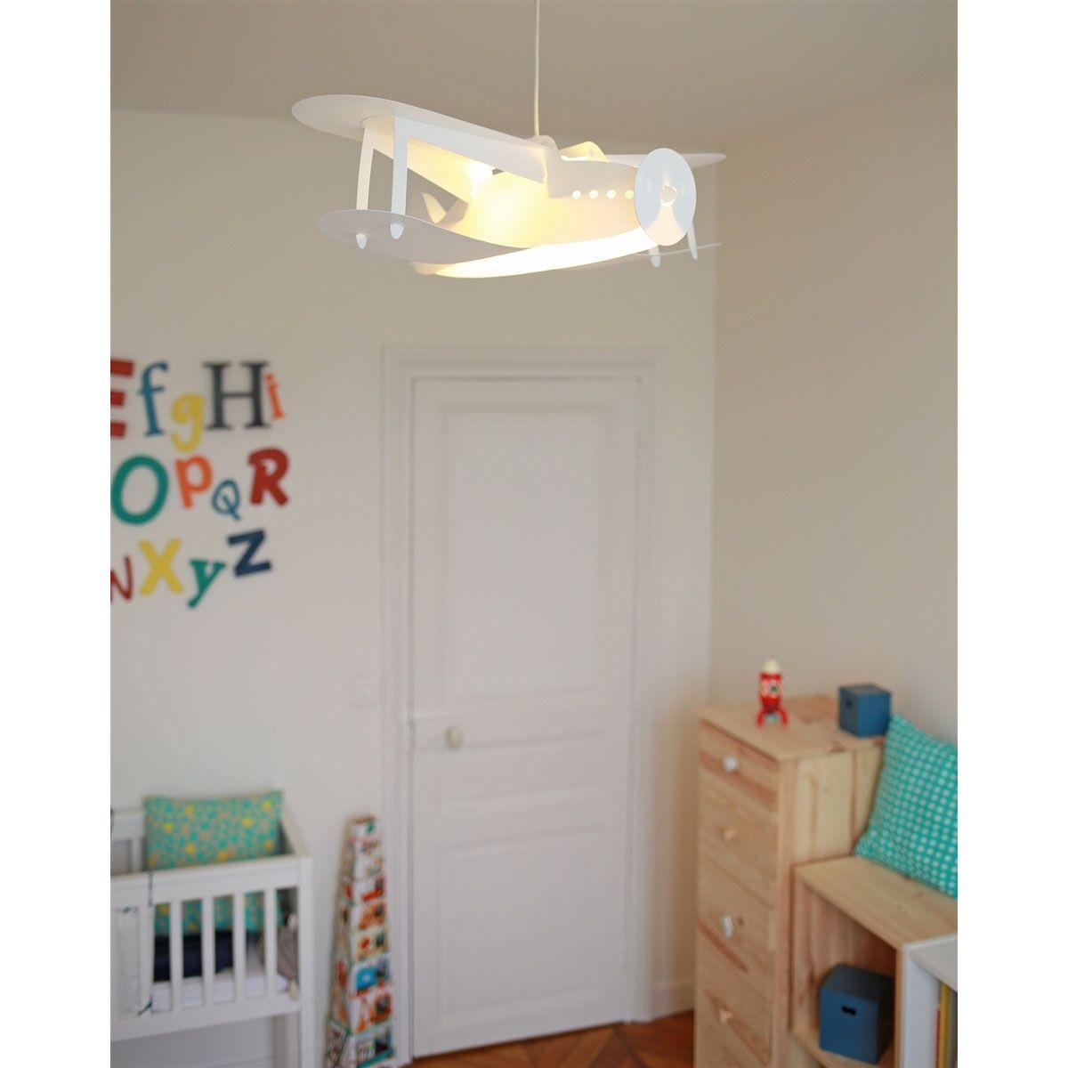 Lampe Suspension Chambre D Enfant Avion Chambre Enfant Lampe