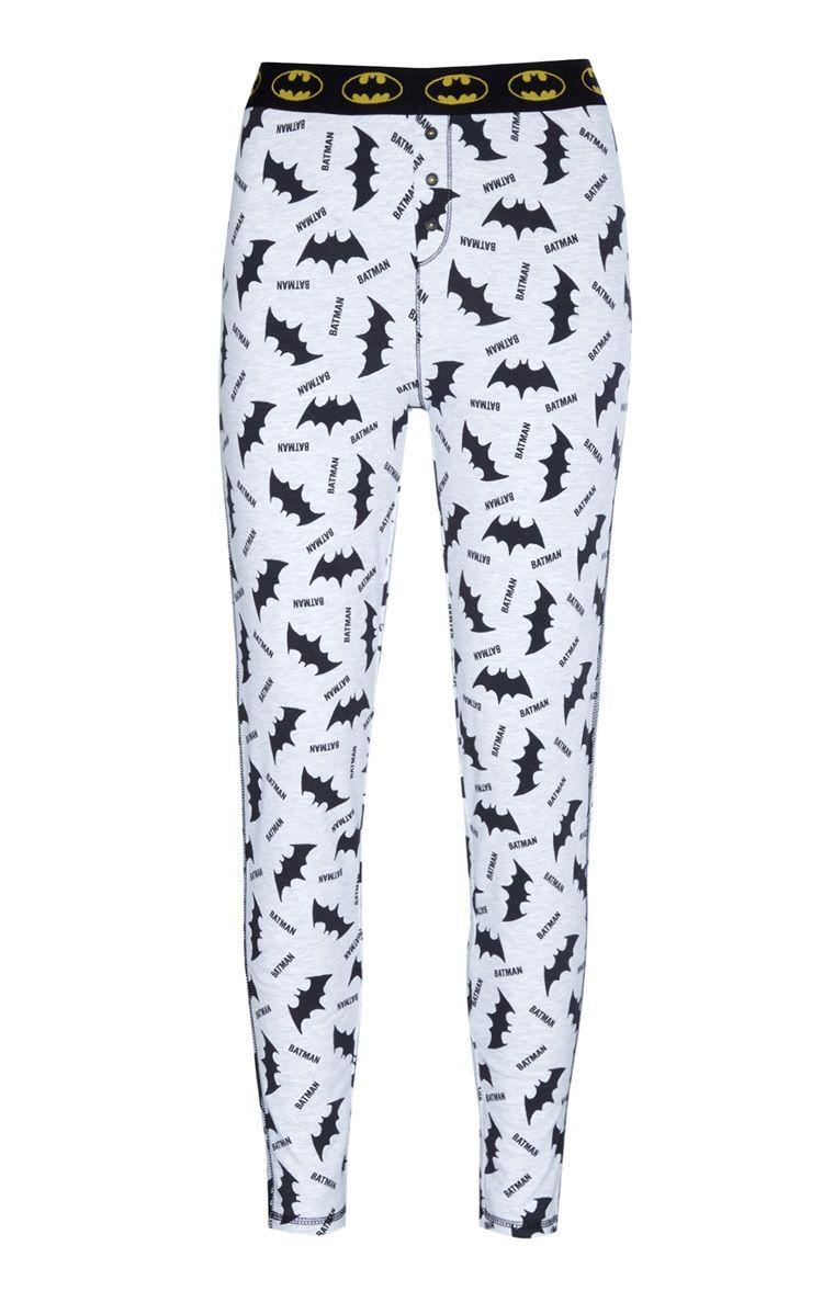 7ff56e003e Legging de pyjama gris Batman
