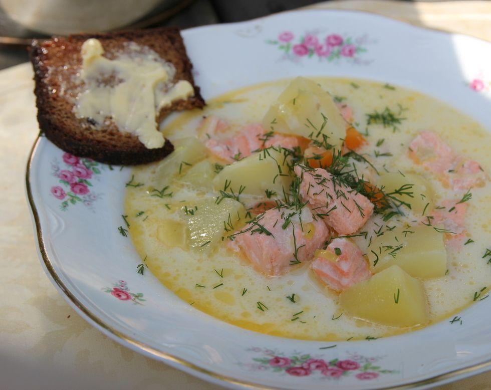 Perinteinen lohikeitto - Culinarista | Lily.fi