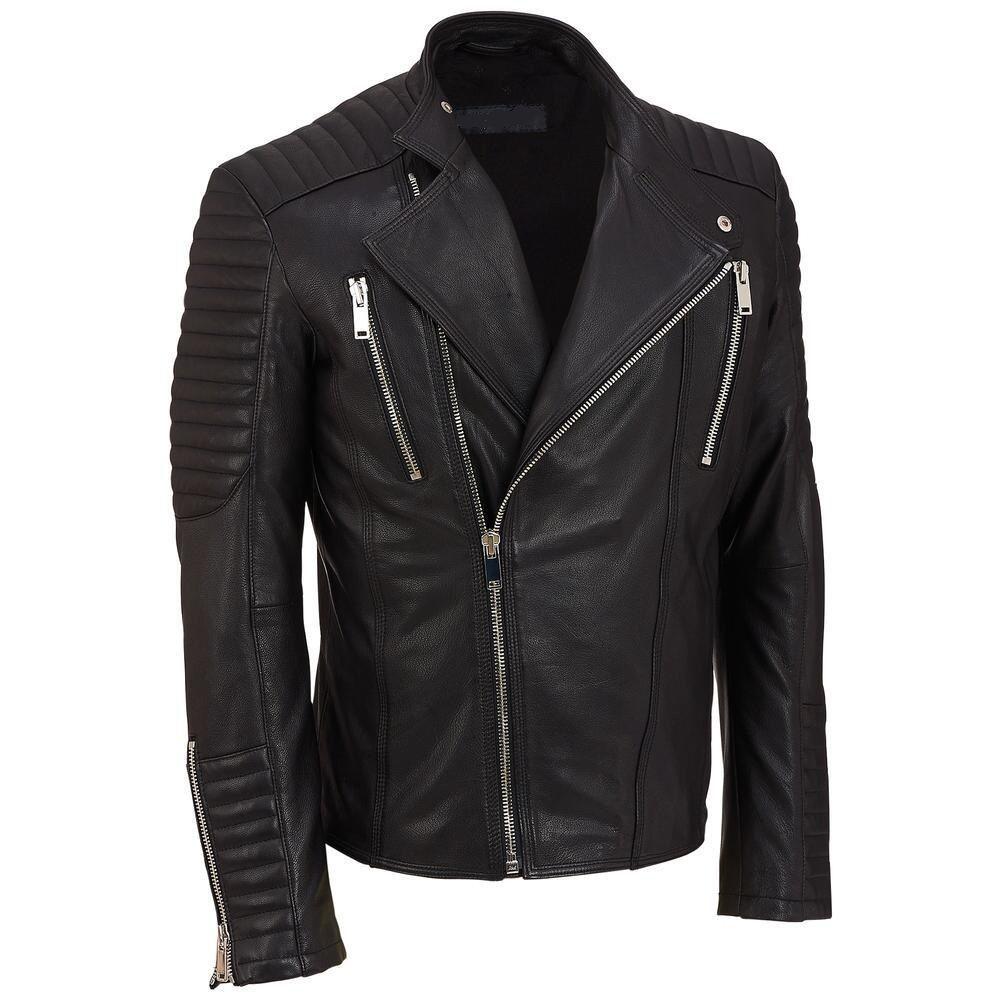 Encontrado No Bing Em Www Bonanza Com Leather Jacket Men Dapper Mens Fashion Dapper Men [ 1000 x 1000 Pixel ]