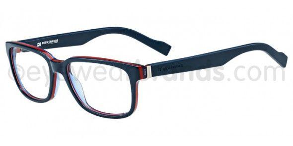 Boss Orange BO 0129 Boss Orange BO0129 1NP Blue/Red | Eyewear Brands