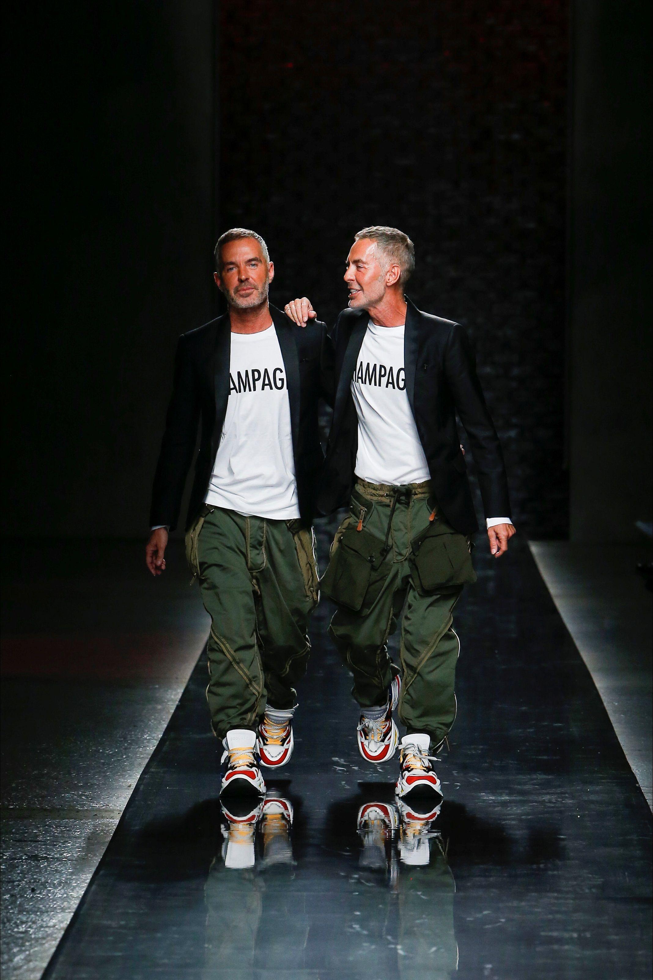 58141a5da1770 Sfilata Moda Uomo DSquared2 Milano - Primavera Estate 2019 - Vogue ...