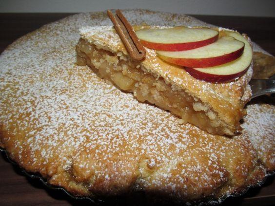 Šťavnatý jablkový koláč (fotorecept) - obrázok 6