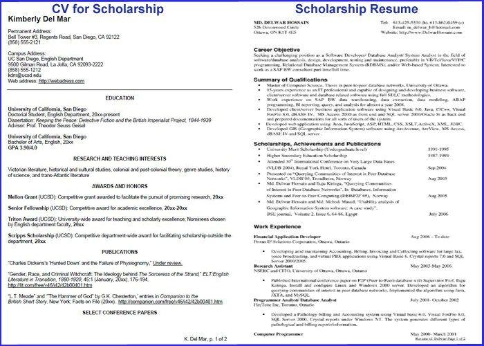 ResumeJpg   Scholarship Resumes