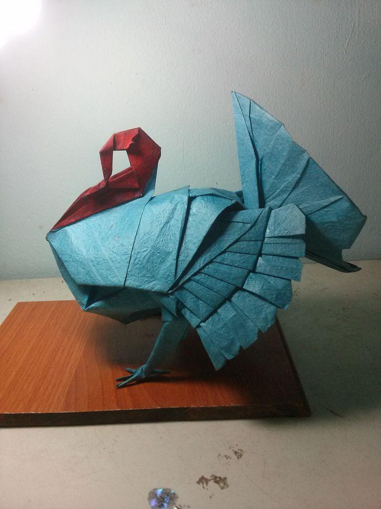 Wild turkey origami explore and oragami origami paper jeuxipadfo Image collections
